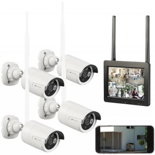 Système de surveillance vidéo.