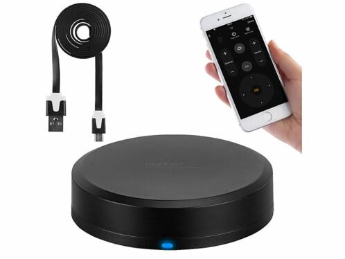 Télécommande connectée pour appareils commandés par infrarouges ou ondes radio