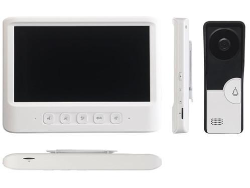 Visiophone à écran couleur et fonction ouvre-porte VSA-600.rec (reconditionné)