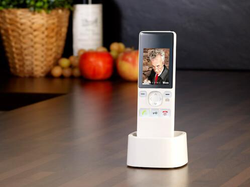 Visiophone sans fil infrarouge
