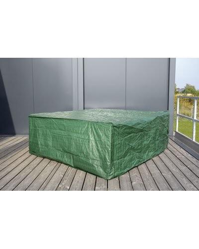 B che tanche pour mobilier de jardin format cube ou - Bache pour table de jardin rectangulaire ...