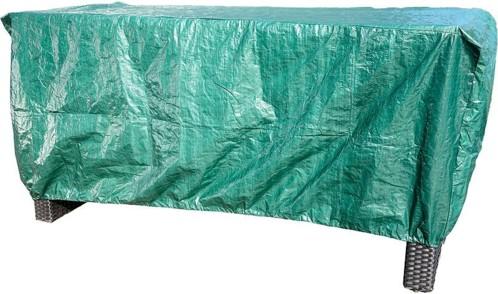 B che tanche pour transat de jardin et table basse 1 m avec cordon - Bache protection table exterieure ...
