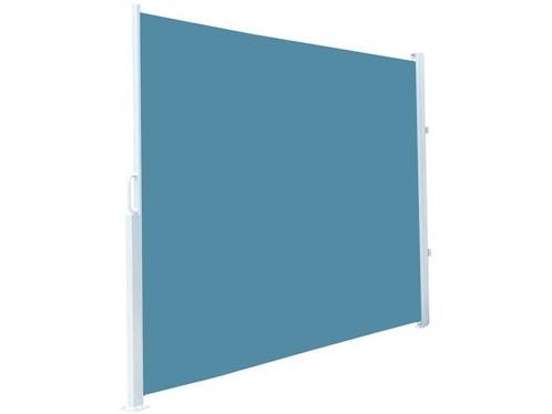 Brise-vue déroulable 120 x 200 cm - Bleu saphir