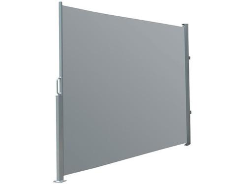 Brise-vue déroulable 120 x 200 cm - gris anthracite