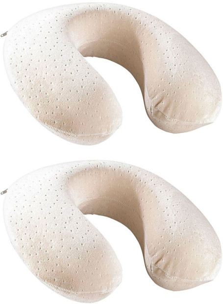 2 coussins cervical à mémoire de forme