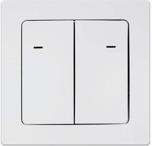 Double interrupteur radiocommandé