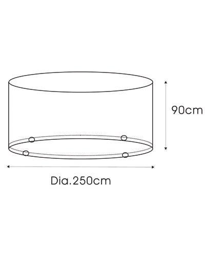 achat housses pour meubles de jardin pearl diffusion. Black Bedroom Furniture Sets. Home Design Ideas