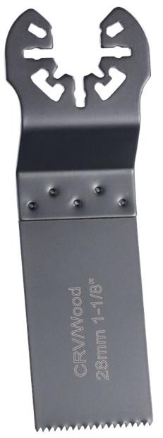 5 lames de scie plongeante standard pour outils multifonctions, 28 mm, CRV