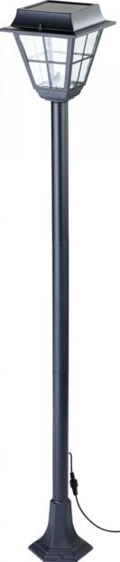 Lampadaire de jardin à LED, avec capteur PIR - Hybride