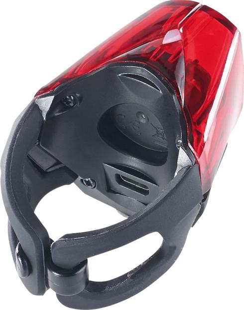 feu de position rouge pour vélo avec batterie interne kryolights