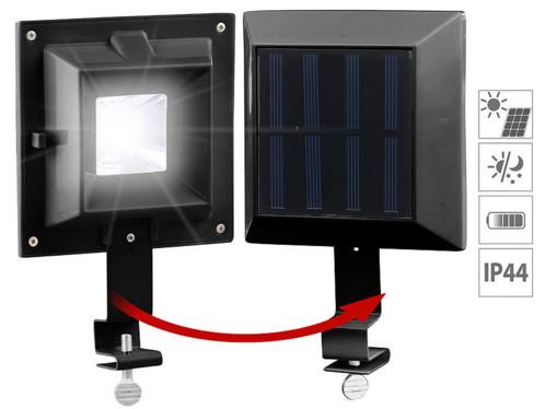 Smd Solaire Clôture 6 Gouttière Lampe Et À Led Lunartec BoQedxWECr