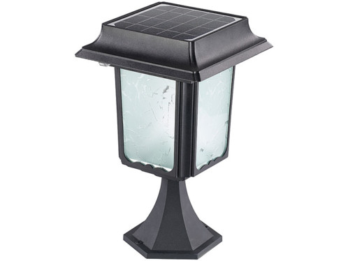 Lanterne de jardin solaire en inox (avec ou sans pied) swl ...