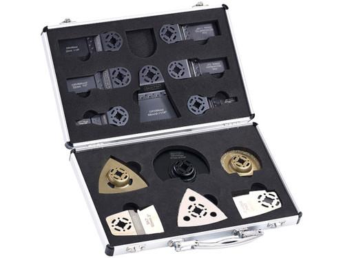 """Malette à outils avec 13 accessoires pour outils multifonction """"AW 19.mf"""" & """"MFW"""