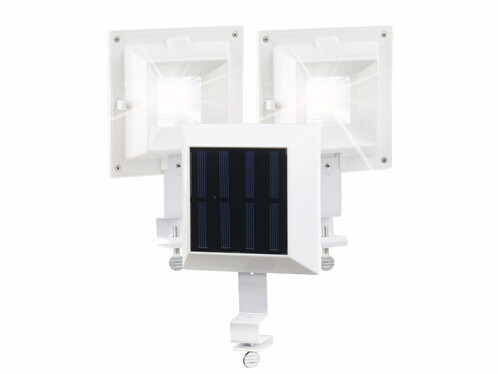 Pack de 3 lampes solaires 6 LED pour clôture et gouttière