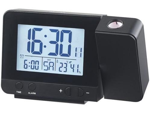 Réveil à projection radio piloté avec chargement USB DAC 700.beam
