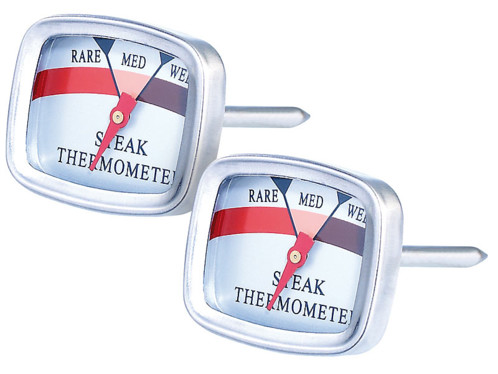 2 thermomètres à steak