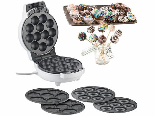 cuiseur avec moules pour cake pops mini donuts et cupcakes rosenstein