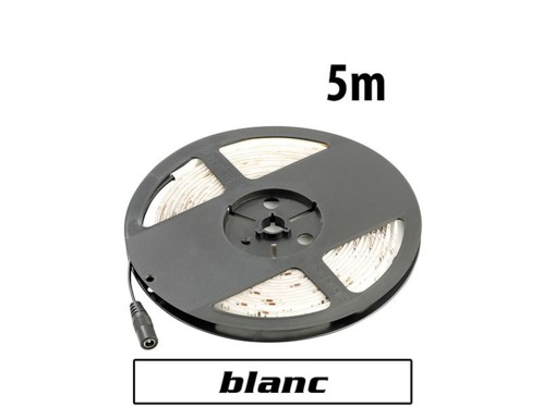 Bande à LED 5 mètres - Blanc