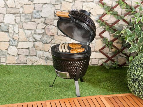 barbecue fumoir en ceramique style gril kamado japonais cuisson haute temperature