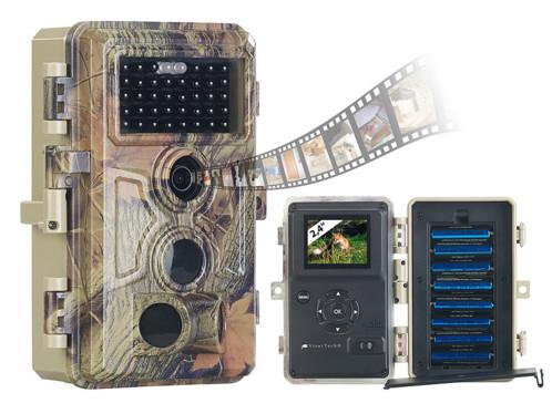 caméra de surveillance nature etanche camouflée pour observation foret gibier animaux sauvages fonctionnement a piles wk590 visortech