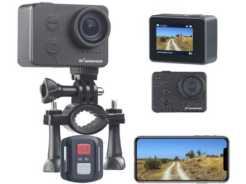 Caméra sport étanche connectée UHD avec capteur Sony DV-3917
