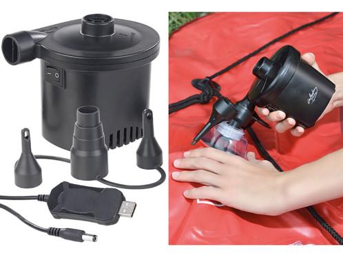 Gonfleur électrique rechargeable USB - 200L/min