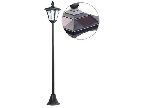 Lampadaire de jardin solaire à LED