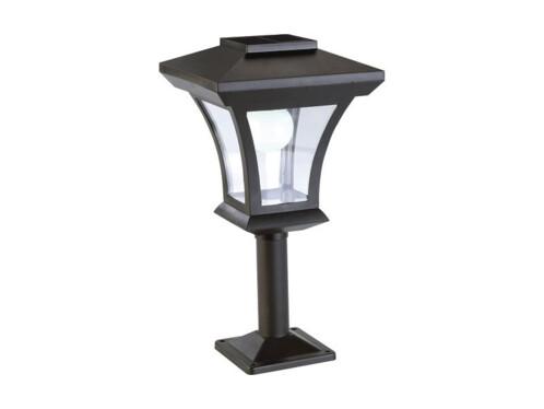 Lampe de jardin solaire à LED sur pied