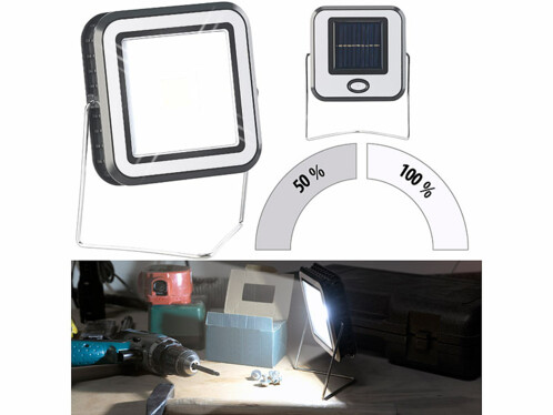 Lampe de travail solaire à LED COB 3W- 150lm AL-315