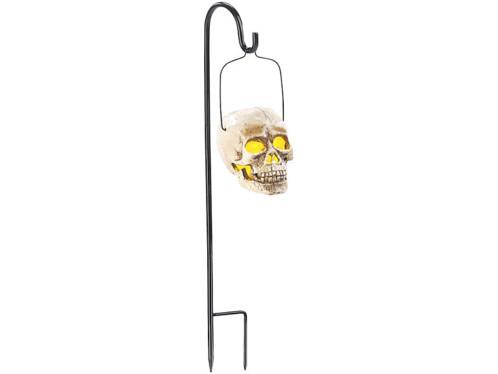 Lanterne de jardin solaire ''Crâne''