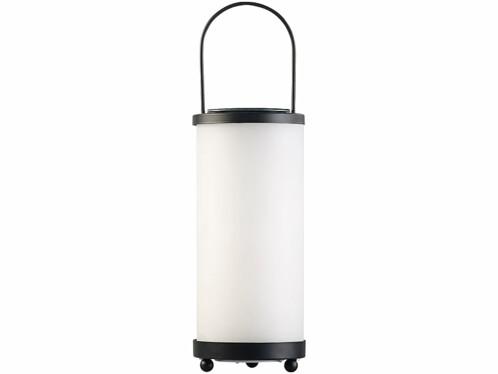 lanterne solaire de jardin a poser ou a suspendre avec led effet flamme naturelle lunartec