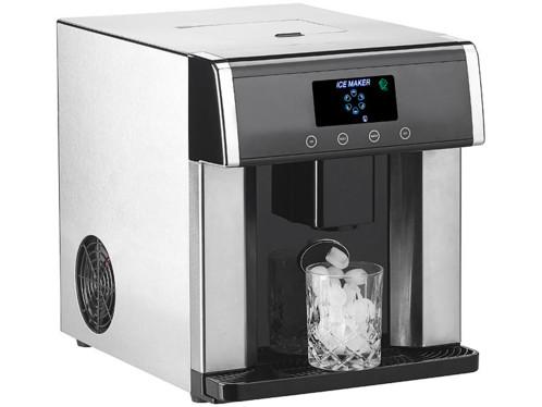 Branchement de machine à glaçons à l'eau chaude ou froide