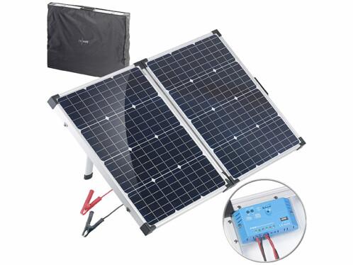 Panneau solaire mobile 110W avec régulateur