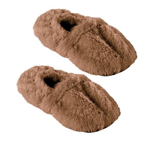 Pantoufles chauffantes à graines de lin - 39/41