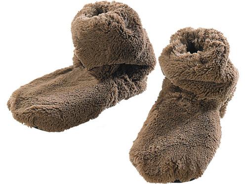 Pantoufles chauffantes à graines de lin - Montantes - 39/41