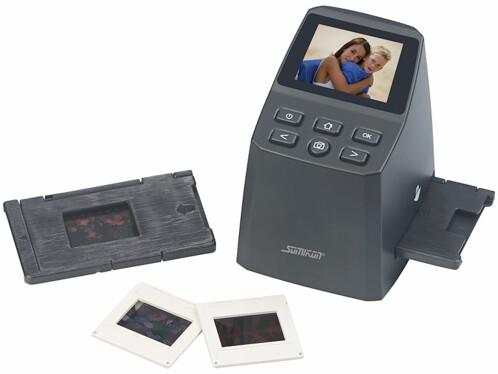 Scanner autonome 8Mpx / 2400dpi pour diapositives et négatifs : SD-950