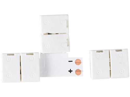 Raccord en T pour bandes à LED monochromes - Intérieur