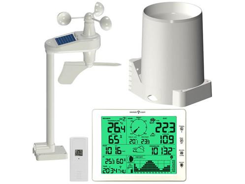 Station météo professionnelle d'extérieur avec écran XXL FWS-1000