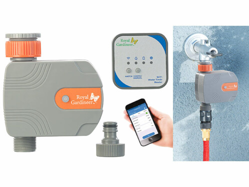 Système d'irrigation électronique connecté BWC-150.app
