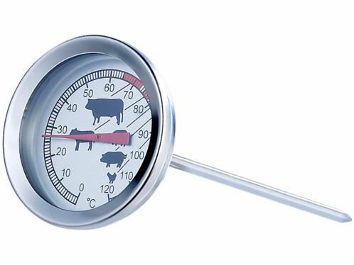 Thermomètre de cuisson pour poêle et grill