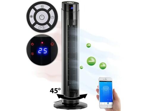 Ventilateur colonne VT-260.tu 2 en 1 avec ioniseur intégré.
