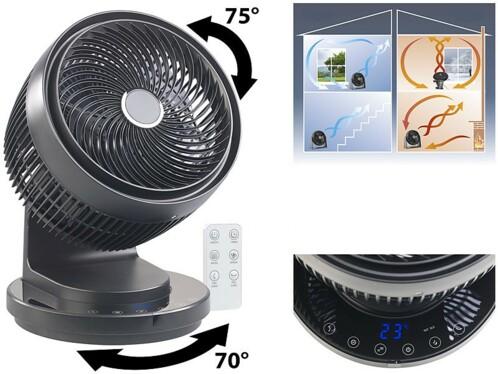 Ventilateur répartiteur digital Ø 23 cm / 60 W
