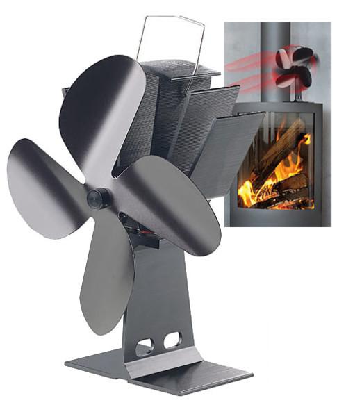 Ventilateur écologique en bois de poêle à bois pour le chauffage de