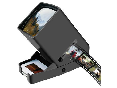 Visionneuse mobile de diapositives, négatifs à grossissement x3et LED