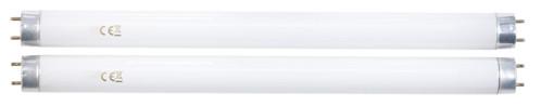 pack de 2 tubes uv neufs pour piege a insectes ultra violet a accrocher lunartec iv