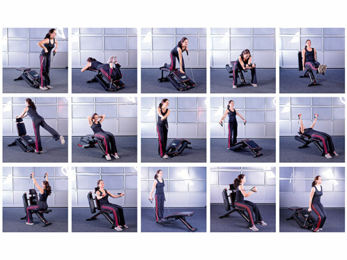 Banc De Musculation Modulable Pour Bras Abdos Et Jambes Pearlfr