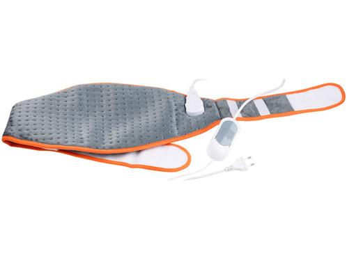ceinture dorsale chauffante pour douleurs muscles lombaires grands dorsaux avec minuteur
