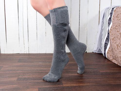 Chaussettes chauffantes à piles - tailles 35-38