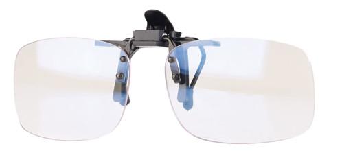 Sur-lunettes à clipser avec Filtre Lumière bleue et UV400 Infactory ... fae5c449514e