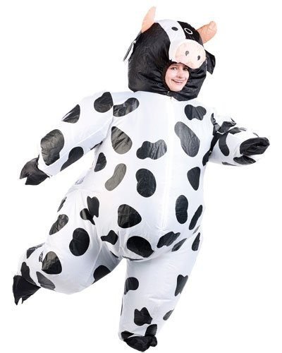 Costume gonflable ''Vache''